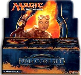2014 Core Set - MTG Magic the Gathering M14 Magic 2014 Sealed Booster Box (36 Packs)