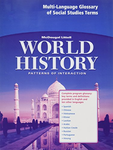 Multi-Language Glossary: McDougal Littell World History: Patterns of Interaction: Complete Program Glossary, Key Terms a