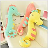 Eonkoo Cute Hippocampus Cushion Pillow Stuffed Plush Toy Doll,Higt Quatily Safety Material Filling Animals Figure Toys for Baby kids Gift 45cm/17.8inch