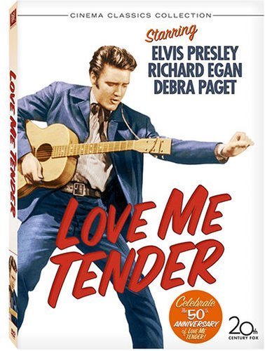 Love Me Tender Richard Egan Debra Paget Elvis Presley Robert Middleton