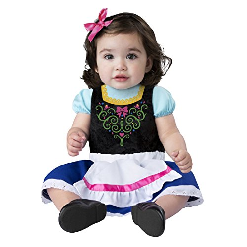 Infant Girls Alpine Sweetheart Costume Baby Bodysuit & Skirt 12-18m