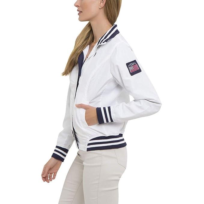 Amazon.com: U.S. Polo Assn. Chaqueta de yate para mujer ...