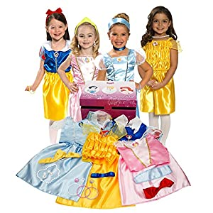 518J4G4d65L. SS300  - Disney Princess Dress Up Trunk (Amazon Exclusive)