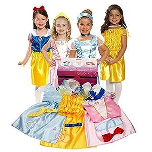 518J4G4d65L. SS300  - Disney Princess Dress Up Trunk (Amazon Exclusive)