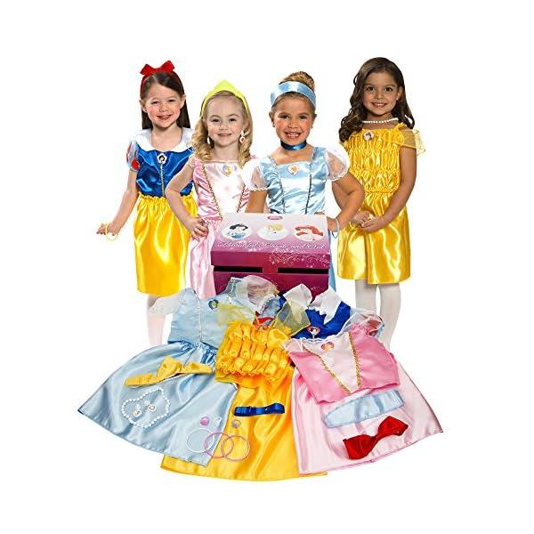 518J4G4d65L. SS600  - Disney Princess Dress Up Trunk (Amazon Exclusive)
