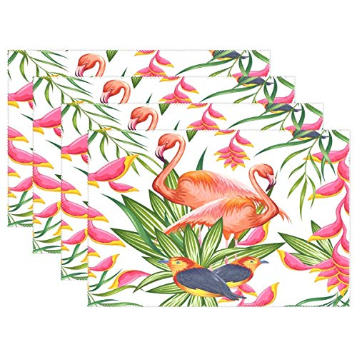Amazon Com Promini Heat Resistant Placemats Pink