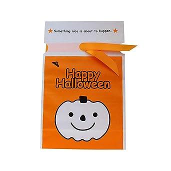 50pcs del lazo de Halloween Goody bolsas de dulces de ...