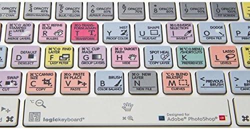 LogicKeyboard Compatible with Adobe PhotoShop CC Apple Advance Keyboard Part Number LK-LKBU-PHOTOCC-AM89