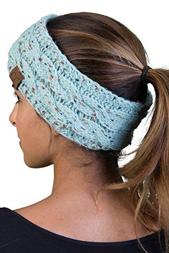 HW-6033-54 Funky Junque Headwrap - Mint (Confetti) ()