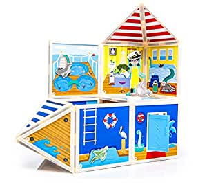 Build & Imagine Marine Rescue Center (magnetic building set)
