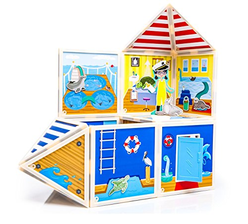 Build & Imagine: Marine Rescue Center (magnetic building - Mall Hours Dolphin