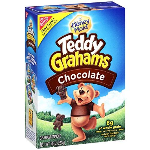 Teddy Grahams Crackers, Chocolate