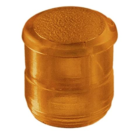 0.281-Inch//7.14mm Diameter T-1 3//4 LED VCC CMC 313 Series Round Lens for 5mm Amber