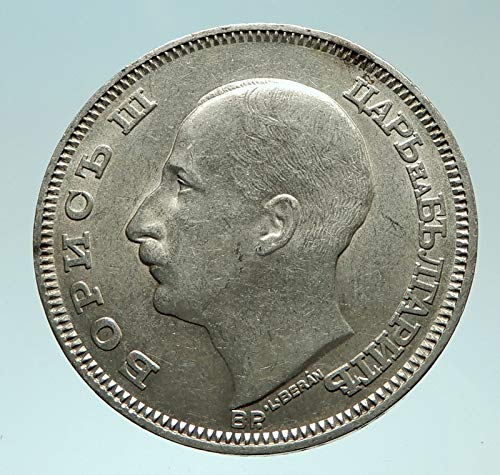 - 1930 BG 1930 Boris III Tsar of Bulgaria 100 Leva Large Ol coin Good Uncertified