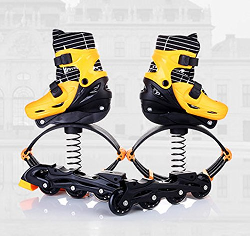 - ZGUO Kids Adults Anti-Gravity Running Boots Fitness Bounce Shoe Jumping Shoes 60-240 LBS