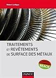 Traitements et revêtements de surface des métaux
