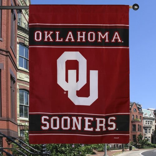 Fremont Die NCAA Oklahoma Sooners 2-Sided House Flag, 28