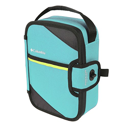Columbia Trail Flash Insulated Zipperless Lunch, Teal