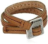 Diesel Men's Double Cuff Wrap Bracelet