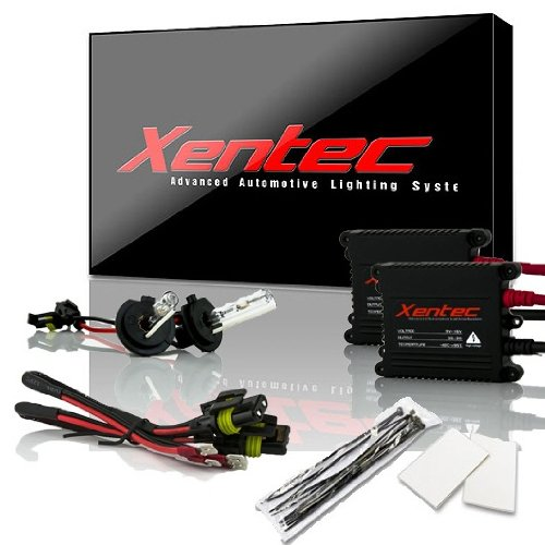 XENTEC H7 6000K 55W Advanced Slim Ballast HID Xenon Kit (Ultra White)