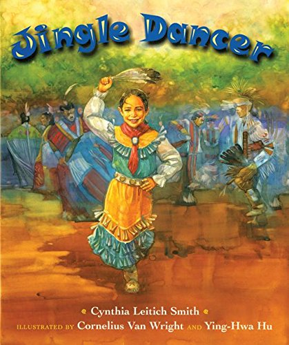 American Indian books: Jingle Dancer_29 Must-Read Fiction and Nonfiction American Indian Books for Kids