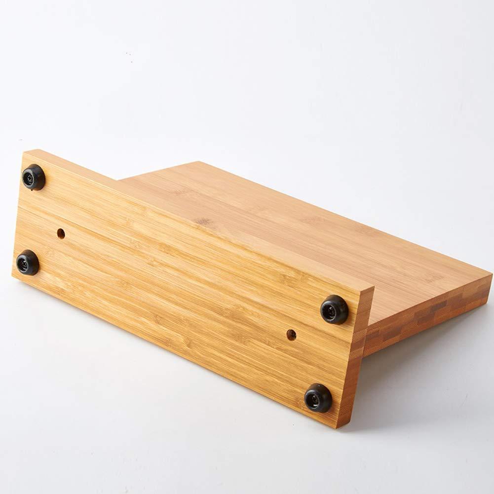 Magnetic Knife Block KitchenKnifeBlock Wooden MagneticKnifeHolder BambooKnifeStand Knife Dock by WOOYAN (Image #8)