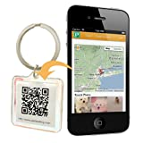 QR Code Pet ID Tag Accessory w/ Smartphone GPS Tracking