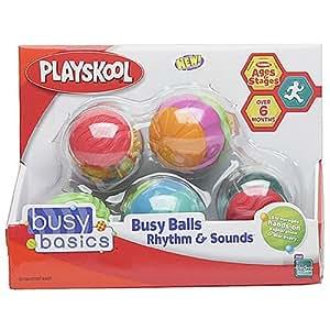 Playskool Busy Basics Busy Balls:  Rhythm & Sounds