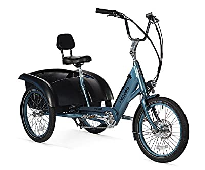 Pedego Trike Mineral Blue with Black Balloon Package 36V 11Ah