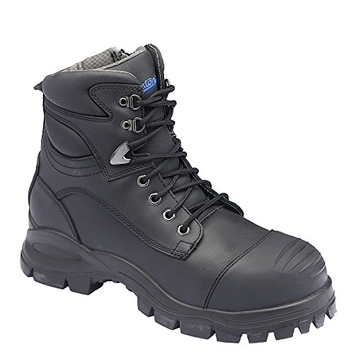 Men's Black Leather Boot Range Zip Rubber Blundstone Xfoot dnUw4pYq