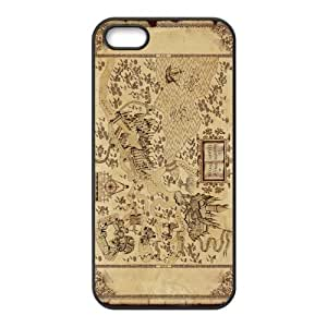 Awesome Magic Harry Potter Marauder's Map Rubber Case Cover for Iphone 5 5s by Maris's Diary