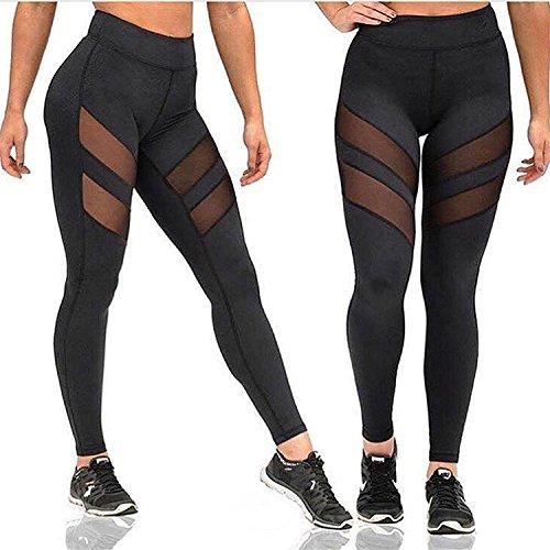 Yixinan Fitness mesh pants women