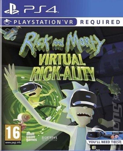 Rick and Morty Virtual Rick-Ality (PS4 VR)