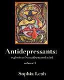 Antidepressants, Sophia Leah, 0988767503