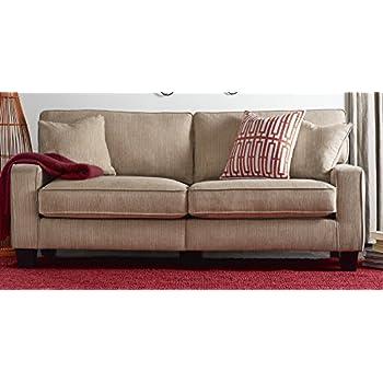 Amazoncom Serta RTA Palisades Collection 73 Sofa in Flagstone
