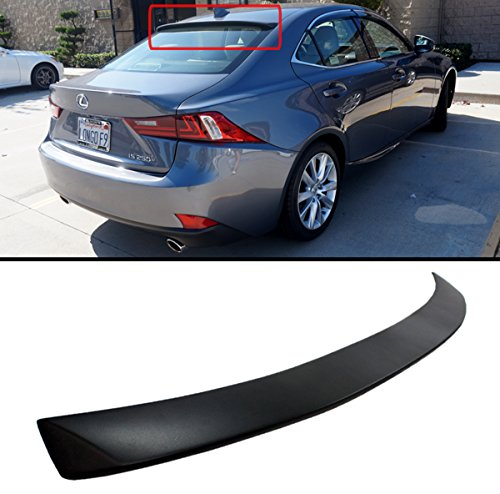 (Cuztom Tuning for 2014-2018 Lexus IS250 IS350 IS200T VIP Style Rear ROOF Window Spoiler Wing)