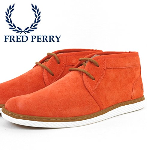 FRED PERRY CLAXTON MID SUEDE CINNAMON