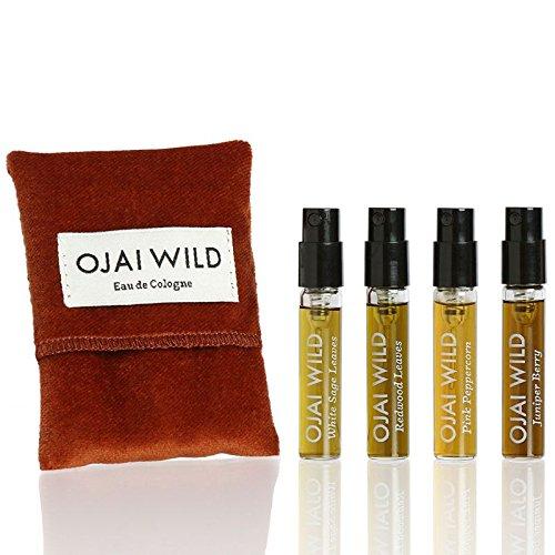 Ojai Wild Cologne Travel Collection - 4 x 2.5 ml