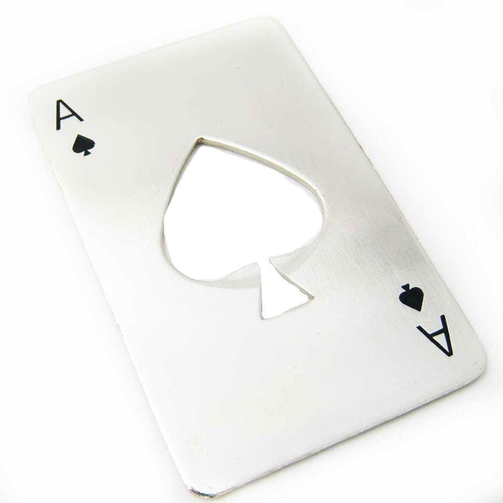 Leegoal Credit Card Size Casino Bottle Opener NA