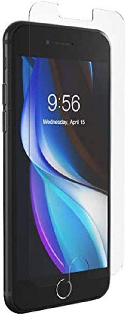 ZAGG InvisibleShield Glass Elite Plus - Tempered Glass Screen Protector - Made for Apple iPhone SE2 (2020) - Case Friendly - Impact & Scratch Protection