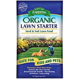 Espoma Organic Lawn Starter Seed and Sod Food Fertilizer, 36 lb