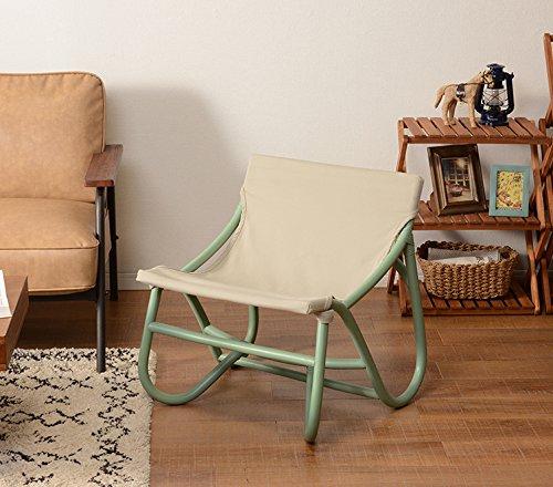 チェア ハンティングチェア アウトドアチェア サイドチェア 椅子 ラタン 籐 完成品 コンパクト 持ち運び可能 (ペールグリーン) B07D66TDWP ペールグリーン ペールグリーン