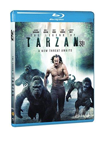 The Legend of Tarzan (Blu-ray 3D + Blu-ray + DVD + Digital HD + UltraViolet Combo (Tarzan 3)