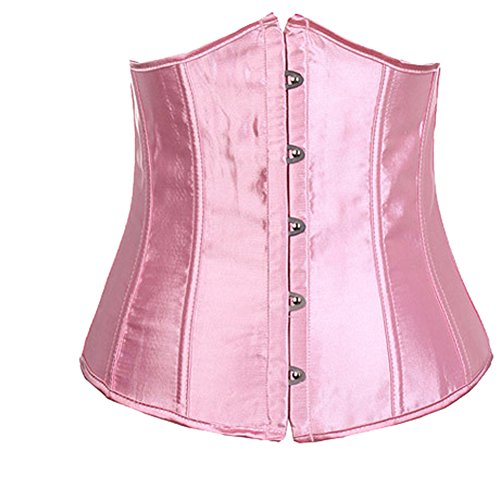 Surker – Maquinilla Mujer oberk?rpertrainer corsé F ¨ ¹ r Weight Loss, vientre Compression g ¨ ¹ rtel Workout cintura Cincher Body Shaper Waist Trimmer Back Support Slim Mer Belt rosa