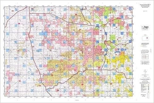 Wyoming Antelope GMU 27 Hunt Area / Game Management Units (GMU) Map ...