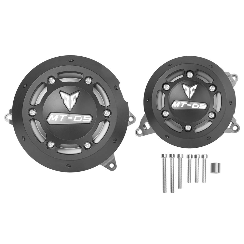 Black Ayouyue Engine Guard Frame Slider Stator Cover Protector For 2014-2016 Yamaha MT FZ 09 MT-09 FZ-09 FZ09 MT09 2015
