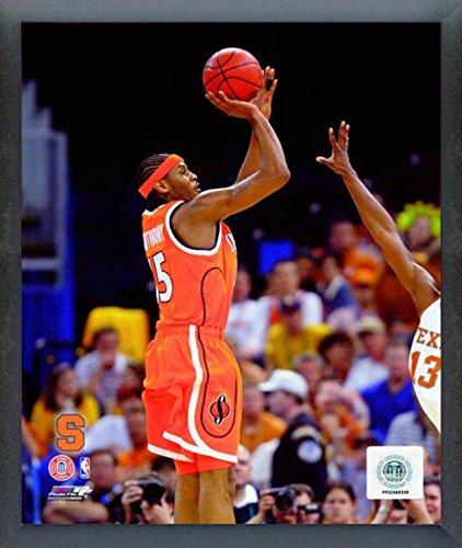 Carmelo Anthony Syracuse Orange Action Photo (Size: 17'' x 21'') Framed by Photo File