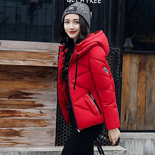 Thick Slim Women Clothes Coat Winter Down Winter Cotton red Jacket Paragraph Short Wool Jacket Xuanku Cotton Winter qSw0P0