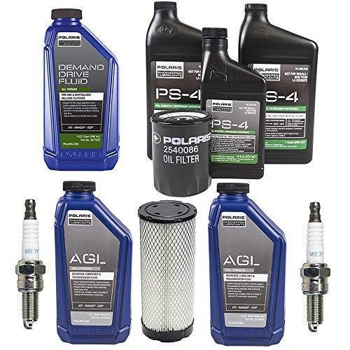 Polaris Rzr S - 2015-2017 POLARIS RZR 900/S Complete Service Kit Oil Change Air Filter