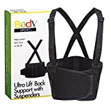 Milliken Medical Regular Size Ultra Lift Back Support with Suspenders - MS87426 (3 Boxes)